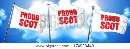 proud scot 3D rendering triple