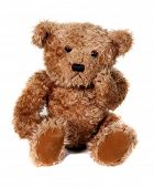 image of teddy-bear  - Adorable Brown Teddy Bear - JPG