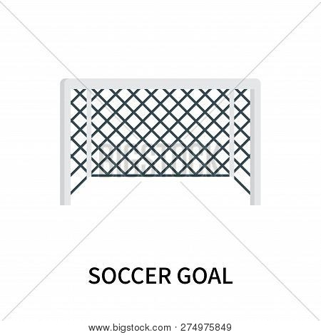 Soccer Goal Icon Isolated On