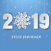 Happy New Year (Feliz Navidad) Card poster