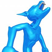 image of wolfman  - A Concept And Presentation Figure in 3D - JPG