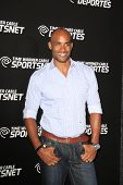 LOS ANGELES - OCT 30:  Boris Kodjoe arrives at the Time Warner Sports Launch of TWC Sportsnet at TWC