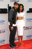 LOS ANGELES - JUN 30: Chris Brown, Sevyn Streeter at the 2013 BET Awards at Nokia Theater L.A. Live