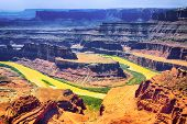 pic of colorado high country  - Dead horse point state park - IS786-068