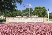 FT WORTH - MAR 15:  Texas Christian University (TCU) is a private, coeducational university located