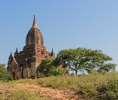Ancient Burmese Temple, Myanmar