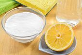 stock photo of baking soda  - Eco - JPG