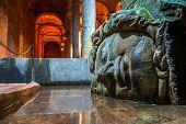 stock photo of cistern  - Famous Medusa - JPG