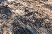 picture of decomposition  - A damaged roof from years of neglect - JPG