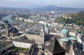 View Of Historical Center Of Salzburg, Austria poster