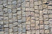picture of paving stone  - Cobblestone texture - JPG