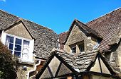 stock photo of broadway  - Cotswold stone cottage Broadway Cotswolds Worcestershire England UK Western Europe - JPG