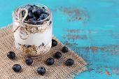 stock photo of breakfast  - Healthy breakfast  - JPG