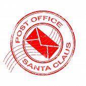 Постер, плакат: Post Office Santa Claus