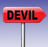 pic of satan  - devil evil satan burn in hell   - JPG