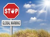 image of global-warming  - stop global warming and climate change carbon neutral go green energy solar or wind power  green house effect no pollution - JPG