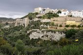 image of west village  - View of a small village in southern Spain located on top of a canyon - JPG