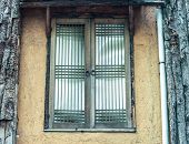 pic of abandoned house  - Old window in abandoned house in Korea - JPG