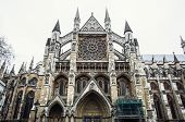 picture of church  - Westminster Abbey formally titled the Collegiate Church of St Peter at Westminster is a large mainly Gothic church in the City of Westminster London - JPG