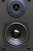 picture of speaker  - audio speaker close - JPG