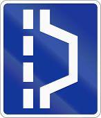 pic of breakdown  - Polish traffic sign  - JPG