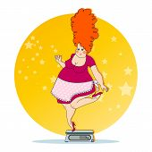 stock photo of obesity  - the problem of excess weight - JPG