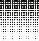 image of grayscale  - Abstract background black white halftone pattern vector - JPG
