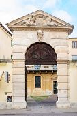 image of vicenza  - An old gate in Piazza del Castello in Vicenza Veneto Italy - JPG