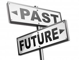 picture of past future  - past future prediction and forecast near future fortune telling and forecast evolution and progress and innovations - JPG