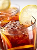 picture of iced-tea  - iced tea chilled - JPG