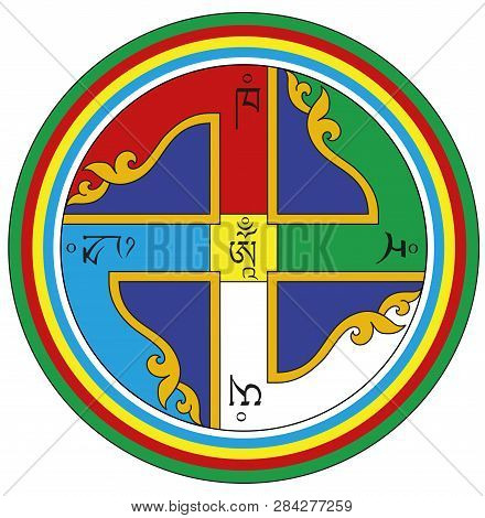 Tibet Swastika Buddhism Sacred Meditation