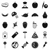 Ripeness Icons Set. Simple Set Of 25 Ripeness Icons For Web Isolated On White Background poster