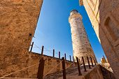 pic of el morro castle  - The famous castle and lighthouse of El Morro in Havana - JPG