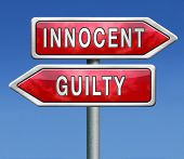 stock photo of jury  - innocent or guilty - JPG