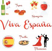 picture of sangria  - Wine with paelle with tapas with sangria - JPG