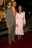 LOS ANGELES - NOVEMBER 28: Shaun Toub and Shohreh Aghdashloo at the premiere of