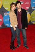LAS VEGAS - DECEMBER 04: Rosemarie DeWitt and Ron Livingston arriving at the 2006 Billboard Music Aw