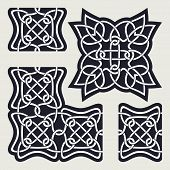picture of plexus  - Pattern similar to the Celtic ornament - JPG