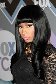 Nicki Minaj at the FOX Winter TCA All-Star Party 2013, Langham Huntington Hotel, Pasadena, CA 01-08-