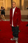 LOS ANGELES - NOVEMBER 21: Chris Brown at the 34th Annual American Music Awards at Shrine Auditorium