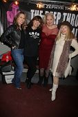 Christy Oldham, Veronica Hart, Sally Kirkland, Terry Moore at the Opening Night of