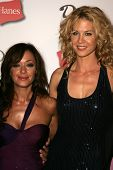 HOLLYWOOD - AUGUST 27: Leah Remini and Jenna Elfman at the TV Guide Emmy After Party August 27, 2006