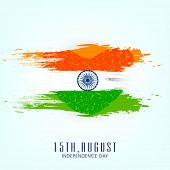 picture of indian independence day  - Beautiful concept for 15th of August - JPG