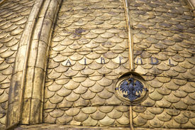 picture of stanislaus church  - Fragment of Wawel Cathedral - JPG
