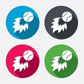 picture of fireball  - Baseball fireball sign icon - JPG