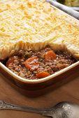 image of pie  - Cottage pie or shepherd - JPG