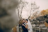 pic of yellow castle  - beautiful stylish elegant charming loving couple in the castle - JPG