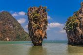pic of james bond island  - Ko Tapu island in the Ao Phang - JPG