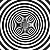 pic of hypnotizing  - Hypnotic spiral vector illustration - JPG