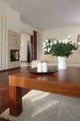 picture of scant  - Table in modern living room - JPG